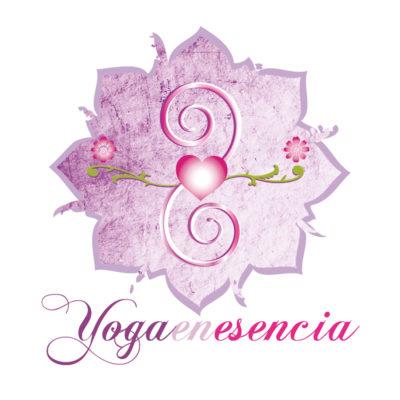 """Logotip """"Yoga en esencia"""""""