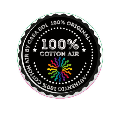 Cotton Air etiqueta lana